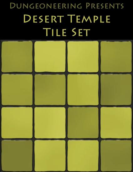 Desert Temple Dungeon Tiles